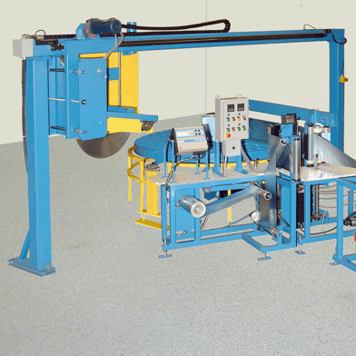 See the HVAC Energy Recovery Wheel Winding Machine Gallery
