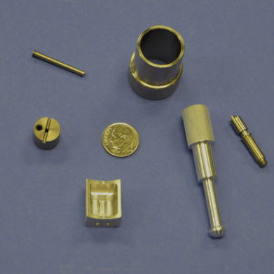 See the Miniature Component Machining Gallery